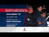 Detienen a otro involucrado en el intento de asalto a Adolfo Lagos | Noticias con Ciro Gómez Leyva