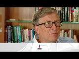 Gates vs Trump ¿Qué dice Bill Gates de Donald Trump? | Noticias con Yuriria Sierra