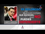 Roberto Sandoval acusó al presidente del PRI de atacarlo | Noticias con Ciro Gómez Leyva