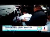 Dirigente del PRI en Morelos choca ebrio | Noticias con Francisco Zea