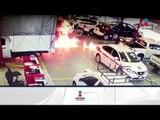 Asaltan local automotriz y prenden fuego a los automóviles en Uruapan | Noticias con Francisco Ze