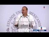 Secretario de gobernación reconoce que México vive condiciones muy complicadas