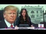 Anuncia Trump medidas enérgicas contra migrantes   Noticias con Yuriria Sierra