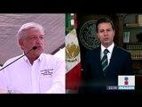 Enrique Peña Nieto respondió a las amenazas de Donald Trump | Noticias con Ciro Gómez Leyva