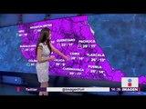 ¿Cómo nos va a tratar el clima esta tarde? | Noticias con Yuriria Sierra