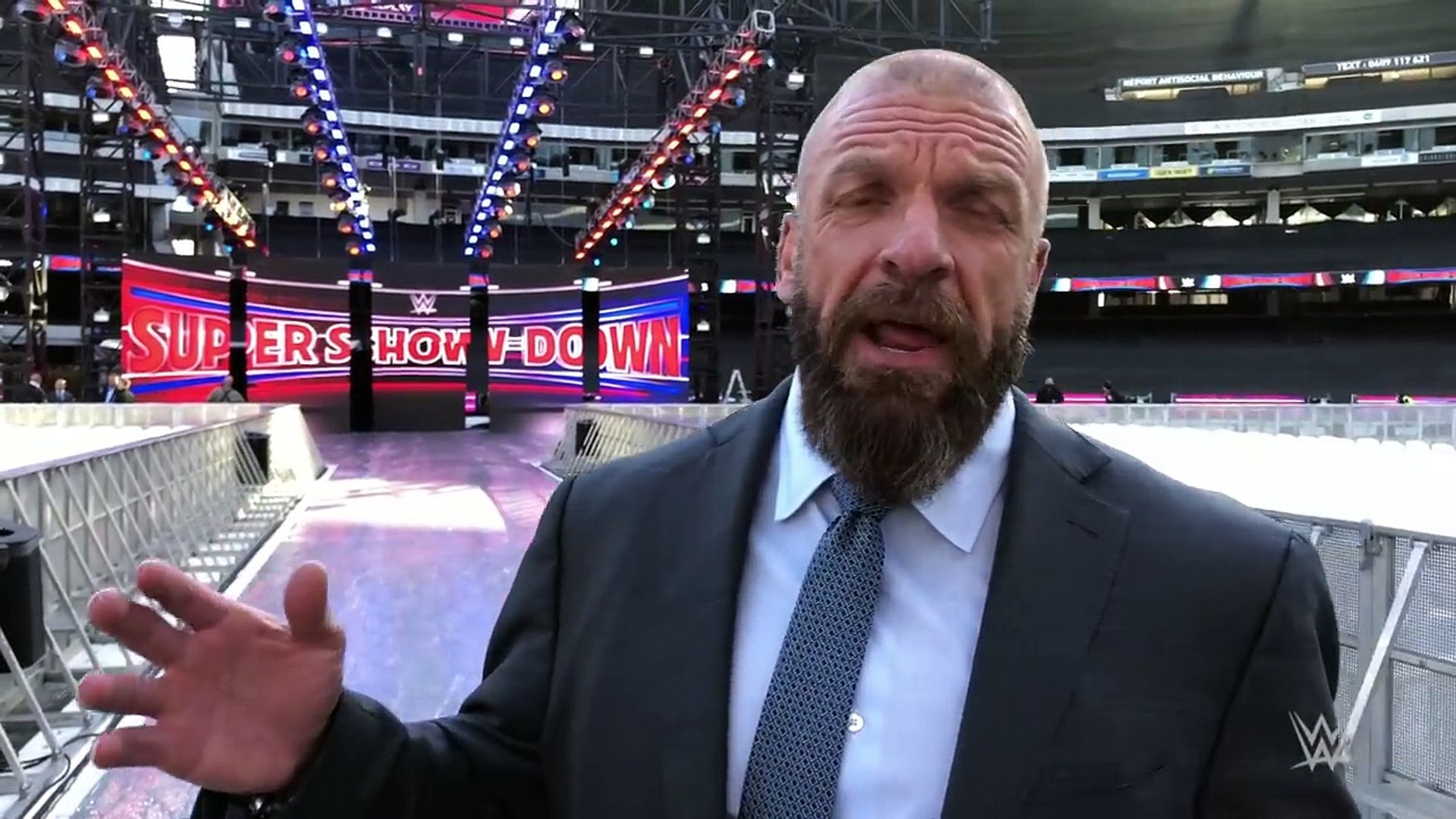 Triple H_ The MCG will be electric at WWE Super Show-Down