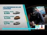 ¿Conoces cuáles son los vehículos más robados en México? | Noticias con Francisco Zea