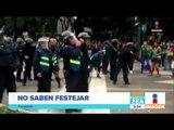 Mexicanos borrachos que no saben festejar ni comportarse | Noticias con Francisco Zea