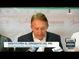 Destituyen a líder del PRI en Morelos por chocar ebrio | Noticias con Francisco Zea