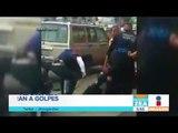 Policías auxiliares se agarran a golpes en Tlaxcala | Noticias con Francisco Zea