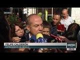 Palabras de Felipe Calderón tras emitir su voto