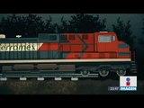 Así es como operan los delincuentes que sabotean trenes | Noticias con Ciro Gómez Leyva