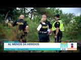Suman 24 heridos en un accidente de autobús en Canadá | Noticias con Francisco Zea