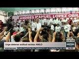 AMLO urge a EPN detener actos racistas e inhumanos de Donald Trump | Noticias con Yuriria Sierra