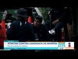 Atentan contra candidata de Morena en Oaxaca | Noticias con Francisco Zea