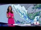 ¿Hasta cuándo seguirán las lluvias en México? | Noticias con Yuriria Sierra