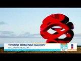 Ella es una de las mejores escultoras mexicanas | Noticias con Francisco Zea