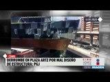 El derrumbe en Plaza Artz Pedregal fue provocado por mal diseño | Noticias con Ciro  El derrumbe
