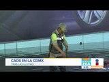 Caos por fuertes lluvias en la Ciudad de México | Noticias con Francisco Zea