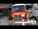 Activan Alerta Amarilla por lluvias en el oriente de la CDMX   Noticias con Ciro