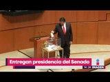Entregan presidencia del Senado ¿Qué pasará con los senadores de México? | Noticias con Yuriria