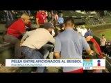 Aficionados de beisbol se agarran a golpes por insultos racistas a latinos | Noticias con Zea