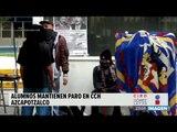 Alumnos mantienen paro en el CCH Azcapotzalco | Noticias con Ciro Gómez L.