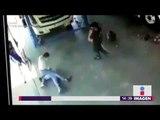 Jefe agarra a golpes a trabajador, nadie lo ayuda | Noticias con Yuriria Sierra