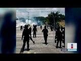 Se enfrentan normalistas y policías en Chiapas   Noticias con Ciro