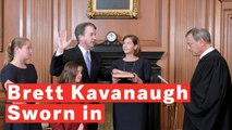 Controversial Supreme Court Justice Nominee Brett Kavanaugh Sworn In
