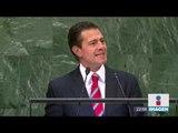 Enrique Peña Nieto asegura que es necesario atacar el tráfico de armas | Noticias con Ciro
