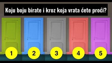 Koja vrata birate Saznajte šta vaš izbor otkriva o vašoj skrivenoj ličnosti!