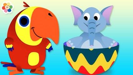 Huevos Sorpresa con Vocabu-Larry-o - Animales y Más | BabyFirst Español