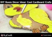 DIY Room Décor Ideas! Cool Cardboard Craftsvia: Troom Troom - easy DIY video tutorials, youtube.com/troomtroom
