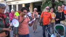 Rassemblement de soutien aux migrants à Auxerre : l'Aquarius plébiscité