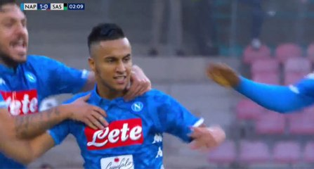 Superbe BUT d'Adam Ounas face à Sassuolo