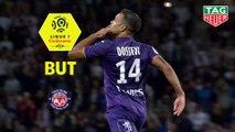 But Matthieu DOSSEVI (54ème) / Toulouse FC - OGC Nice - (1-1) - (TFC-OGCN) / 2018-19