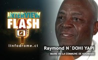 Interview Flash : M. N'dohi Yapi Raymond, Maire de la commune de Koumassi
