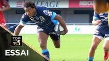 TOP 14 - Essai Benjamin FALL (MHR) - Montpellier - Toulon - J7 - Saison 2018/2019