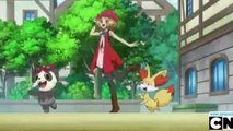 Pokémon XY - S17E64 - Battling with Elegance and a Big Smile!