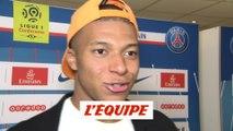 Mbappé «J'aurais dû marquer plus de buts» - Foot - L1 - PSG