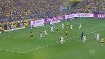 Bundesliga - Remplaçant, Alcacer inscrit un triplé et offre la victoire à Dortmund !