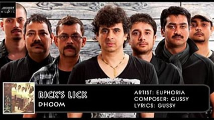 Rick's Lick | Palash Sen | Euphoria | Dhoom