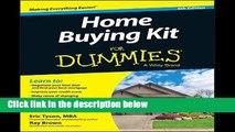 F.R.E.E [D.O.W.N.L.O.A.D] Home Buying Kit FD 6E (For Dummies) [E.P.U.B]