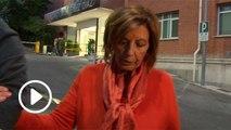 María Teresa Campos, tranquila tras visitar a Terelu en el hospital