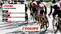 COURSES ITALIENNES, bande-annonce - CYCLISME - COURSES ITALIENNES
