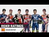Crash Rider Ratings - Aragon MotoGP