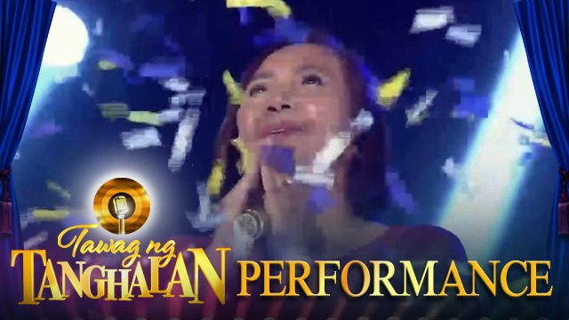 Tawag ng Tanghalan: Girlie Laspinas still holds the golden microphone