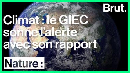 Un nouveau rapport alarmant du GIEC