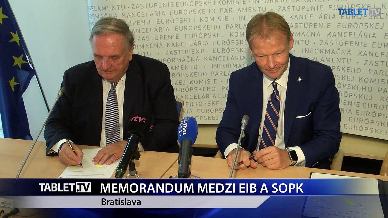Obchodná komora a EIB budú užšie vzájomne spolupracovať